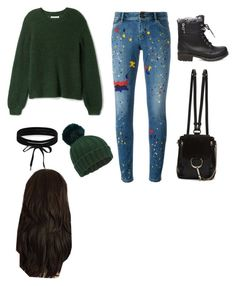 """""""Untitled #26"""" by wrigannabelle on Polyvore featuring Alice + Olivia, Steve Madden, Chloé, Miss Selfridge and Boohoo"""