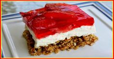 weight watchers recipes: weight watchers best recipes | Strawberry Pretzel Salad (3 Points+)