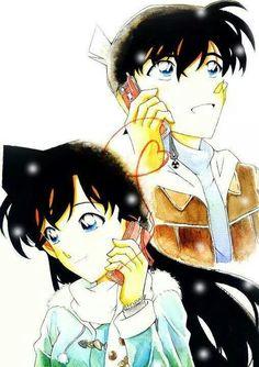 Shinichi  Ran (Detective Conan)