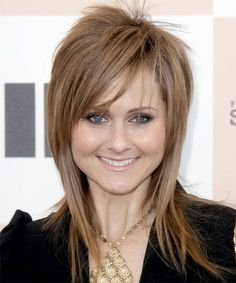 Heather Kafka Hairstyle - Long Straight Alternative - Light Brunette