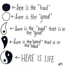 Here is Life. All the more reason to get it tattooed on me