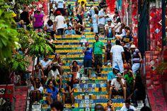 Selaron's Stairs (Rio de Janeiro, Brazil)