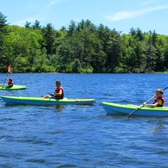 Water Sports Campers can enjoy cooling off on a hot summer's day down at our beautiful waterfront. On opening day each child participates in a swim test run by our certified water safety instructors. Campers are then able to enjoy all the waterfront activities and can explore the lake in canoes, kayaks, paddle boards, sailboats…