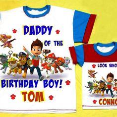 Personalized Father Son Matching Shirts
