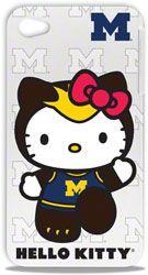 Michigan Wolverines Hello Kitty iPhone 4/4S Hard Shell  http://www.fansedge.com/Michigan-Wolverines-Hello-Kitty-iPhone-44S-Hard-Shell-_-1923419251_PD.html?social=pinterest_pfid23-51829