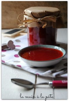 confiture fraises rhubarbe des tartines du vaillant petit tailleur