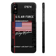 Items similar to Bombay Aircraft Co. Vintage Warplanes USAF Blackbird Case Mate Slim Phone Cases on Etsy Air Force, Aircraft, Phone Cases, Blackbird, Tech, Slim, Vintage, Tecnologia, Aviation