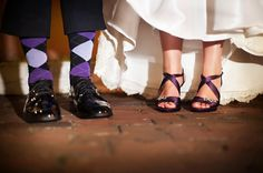 Purple Black and Gold Florida Wedding by Limelight Photography » KnotsVilla