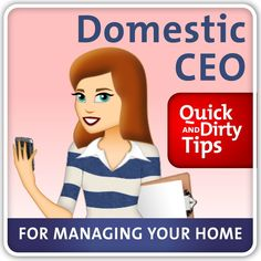 My Articles on Quick and Dirty Tips :: Amanda Thomas - The Domestic CEO's clipboard on Hometalk | Hometalk