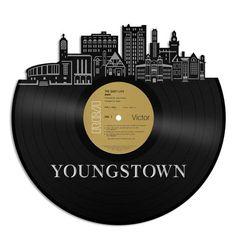 Youngstown Ohio Vinyl Wall Art