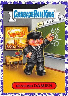 Garbage Pail Kids Cards, Collectible Cards, Kids Stickers, Revenge, 1980s, Horror, Basket, Baseball Cards, My Favorite Things