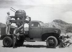 Chevy E5 gunnery practice vehicle