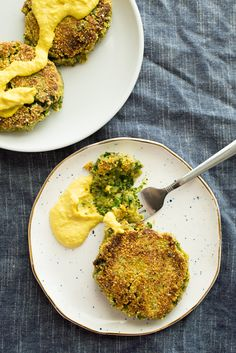 Recipe: Vegan Avocado Fritters with Cashew Hollandaise — Hearty and Vegan