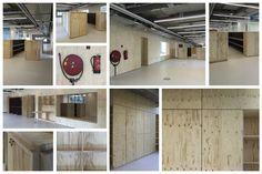 Nieuwbouw Gerrit Rietveld Academie te Amsterdam Hogeschool voor Beeldende Kunst en Vormgeving Ontwerp groep Fedlef tezamen met Rob Hootsmans