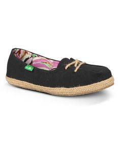 ca125b331 Black Mochi Lace-Up Shoe - Women by Sanuk