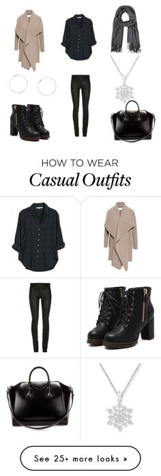 """""""Casual"""" by emma-esselmark on Polyvore featuring Xirena, Harris Wharf London, Givenchy and Dorothy Perkins"""