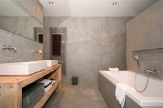 Badkamer renovatie - Texture Painting - Alle Mortex toepassingen en schilderwerken van een hoogwaardige kwaliteit