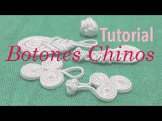 Como hacer botones y broches chinos :) - YouTube