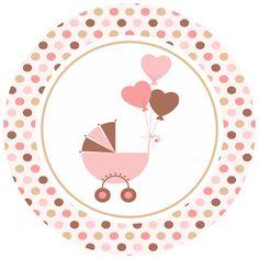 Kit Festa pronta para editar e imprimir chá de bebê - Cantinho do blog Layouts e Templates para Blogger