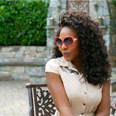 Braid out on Fro Out™ textured straight hair extensions.  SHOP >>>       #hairextensions #hairstyles #haircare #braidout #hair #hairweaves #ONYCHair