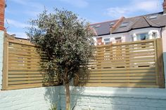 Jacksons Fencing Venetian Panels come in & high. This panel would also let the wind pass through it but help to create a wind break Home Fencing, Garden Fencing, Garden Landscaping, Trellis Panels, Fence Panels, Back Gardens, Small Gardens, Contemporary Fencing, Jacksons Fencing