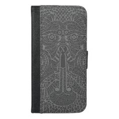 Custom Abstract Dragon Face Wallet graphite Dragon Face, Dragon Head, Phone Card, Dragon Slayer, Weird Creatures, New Year Celebration, New Year Card, Dog Design, Apple Iphone 6