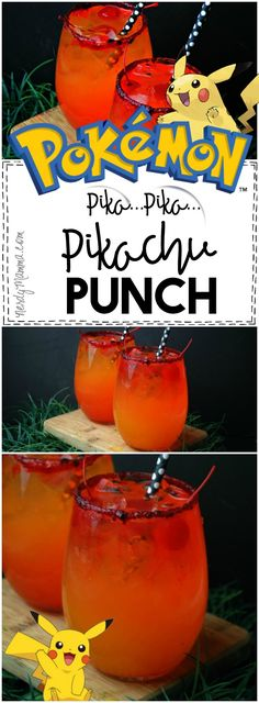 Pikachu Punch {Kid-Friendly Drink} – Nerdy Mamma My kids are going to LOVE this recipe for Pikachu Punch–So yummy and SO fast! Pokemon Party, Pokemon Birthday, 11th Birthday, Birthday Ideas, Birthday Parties, Birthday Wishes, Happy Birthday, Kid Drinks, Party Drinks