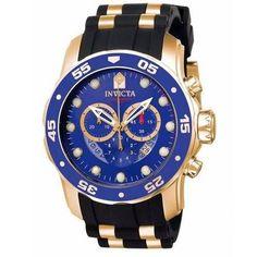 52ac567b10e Relógio Invicta Pro Diver Dourado Masculino - 6983