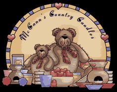McCann's Country Candles  Highly Scented Soy Candles
