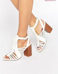 7f1812bb29f Shop New Look Block Heeled Sandal at ASOS.