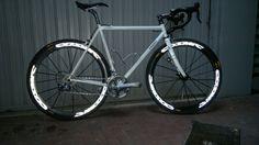 My steel Casati road bike with Mavic Cosmic