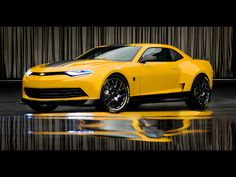 Transformers 4: 2014 Camaro Concept As Bumblebee - Drivespark http://musclecarfuturefortune.com/awesome/