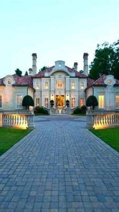 Mansions Homes, Big Houses, Beautiful Architecture, My Dream Home, Dream Homes, Exterior Design, Luxury Homes Exterior, Exterior Colors, Beautiful Homes