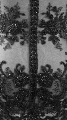 tactile detail dress VII