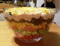 Taco - Salat, ein raffiniertes Rezept aus der Kategorie Raffiniert & preiswert. Bewertungen: 248. Durchschnitt: Ø 4,7.