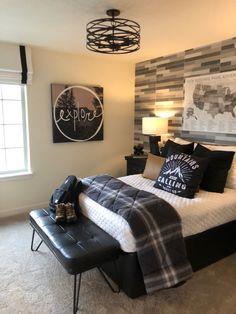 Preteen Boys Bedroom, Cool Bedrooms For Boys, Teen Boy Rooms, Big Boy Bedrooms, Teenage Room, Bedroom Ideas For Teen Boys, Young Mans Bedroom, Bedroom Setup, Room Design Bedroom
