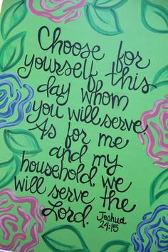 """Custom Scripture or Quote Painting - 16""""X20"""" Canvas"""