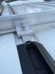 Projektvorstellung günstiger Eigenbau-Dachträger aus Solarunterkonstruktion - VW California Diskussionen, Infos und Lösungen - Caliboard.de - die VW Camper Community T6 California, Solar, T5 Camper, Roof Rails, Car Tools, Toyota 4runner, Can Opener, Jeep, Diy