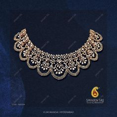 Indian Jewelry Earrings, Fancy Jewellery, Indian Necklace, Gold Jewellery Design, Bridal Jewellery, Diamond Jewellery, Trendy Jewelry, Jewelry Design Drawing, Small Necklace