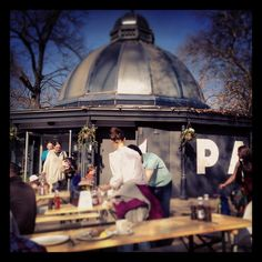 The Pavilion Cafe, Victoria Park. London   Brunch & hanging out with Copper...absolutely fantastic :)