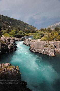 Rio Futaleufú, X Región de Los lagos.