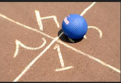 Great Old Games to Teach Your Kids: 4 Square, Kick the Can, Capture the Flag, & More - AKA games to get them active :)