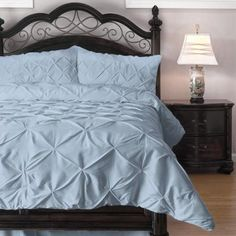 Pinch Pleat Comforter Set - 4-Piece - by ExceptionalSheets