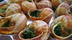 butter and parsley snails recipe