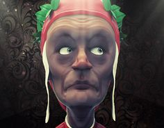 """Check out new work on my @Behance portfolio: """"Dante"""" http://be.net/gallery/34071774/Dante"""