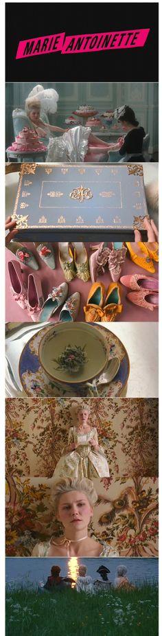 Marie Antoinette, fav movie, soundtrack, screenplay,the feeling,colors,fashion,lighting,actors etc