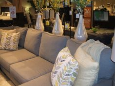 My favorite sofa/sectional of the moment!  ...and I love the styling!
