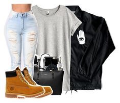 """""""Untitled #2503"""" by kayla77johnson ❤ liked on Polyvore featuring H&M and Timberland"""