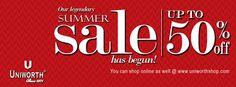 Uniworth Summer Sale 2014
