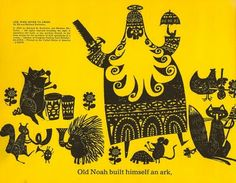 The Art of Children's Picture Books: One Wide River To Cross, Ed Emberley